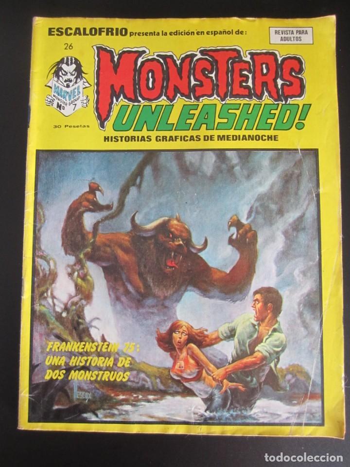 ESCALOFRIO (1973, VERTICE) 26 · 15-II-1975 · MONSTERS UNLEASHED 7 (Tebeos y Comics - Vértice - Terror)