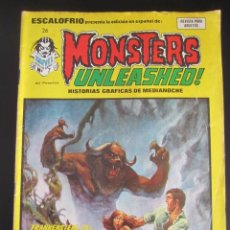 Cómics: ESCALOFRIO (1973, VERTICE) 26 · 15-II-1975 · MONSTERS UNLEASHED 7. Lote 186221028