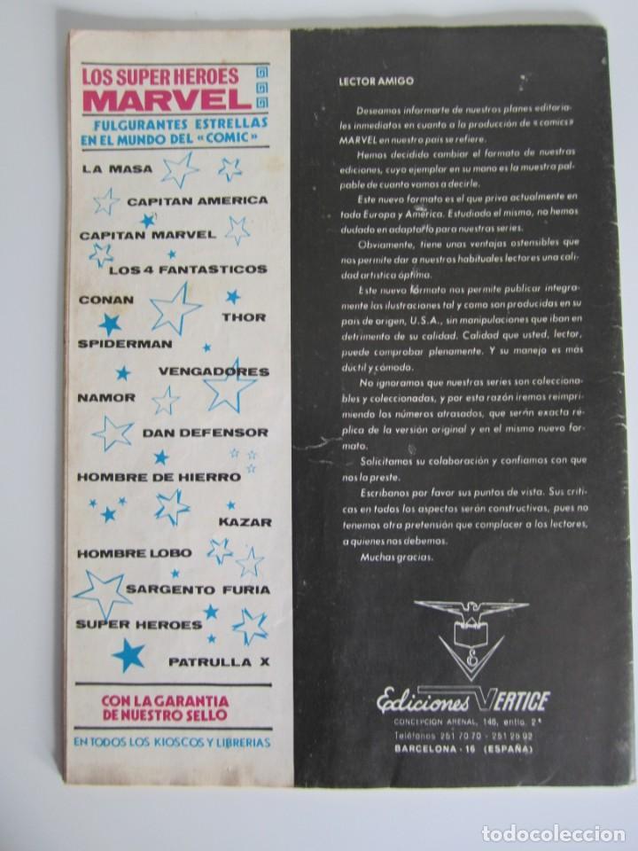 Cómics: ESCALOFRIO (1973, VERTICE) 23 · 30-XII-1974 · TALES OF THE ZOMBIE 7 - Foto 2 - 186223506