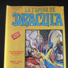 Cómics: DRACULA, LA TUMBA DE (1981, VERTICE) 4 · V-1981 · LOS ARRASTRADORES DEL INFIERNO. Lote 186224122