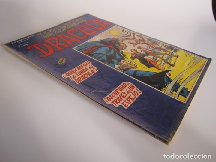 Cómics: DRACULA, LA TUMBA DE (1981, VERTICE) 2 · III-1981 · ¿QUIEN ACECHA LA TUMBA DE DRACULA? - Foto 3 - 186230667