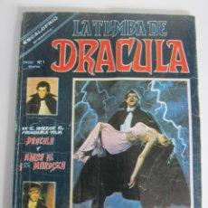 Cómics: DRACULA, LA TUMBA DE (1980, VERTICE) 1 · I-1980 · GENESIS NEGR. Lote 186230831