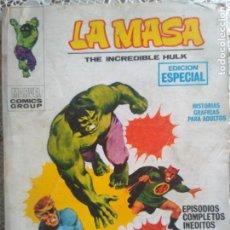 Comics : TACO - LA MASA - LOS ANILLOS DEL MANDARIN. EDICIONES VERTICE Nº3. Lote 186248410