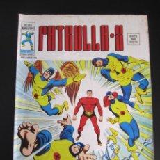 Cómics: PATRULLA X (1976, VERTICE) 4 · VIII-1976 · UNUS EL INTOCABLE. Lote 186251025