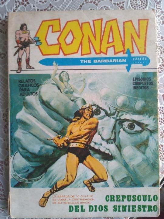 TACO - CONAN. VOL. 1 Nº 2. CREPUSCULO DEL DIOS SINIESTRO - EDICIONES VERTICE. (Tebeos y Comics - Vértice - Conan)