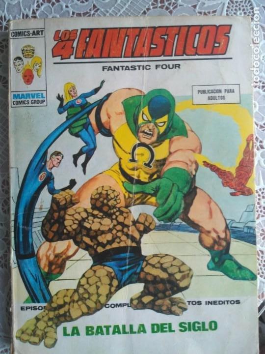 TACO - LOS 4 FANTASTICOS Nº 66 LA BATALLA DEL SIGLO - EDICIONES VERTICE. (Tebeos y Comics - Vértice - 4 Fantásticos)