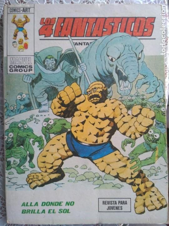 TACO - LOS 4 FANTASTICOS - ALLA DONDE NO BRILLA EL SOL Nº63 - EDICIONES VERTICE (Tebeos y Comics - Vértice - 4 Fantásticos)