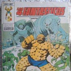 Cómics: TACO - LOS 4 FANTASTICOS - ALLA DONDE NO BRILLA EL SOL Nº63 - EDICIONES VERTICE. Lote 186260743