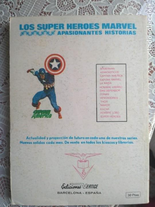 Cómics: TACO - LOS 4 FANTASTICOS - ALLA DONDE NO BRILLA EL SOL Nº63 - EDICIONES VERTICE - Foto 3 - 186260743
