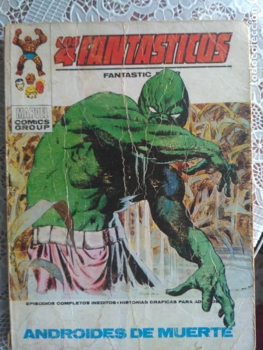 TACO - LOS 4 FANTASTICOS Nº 48 ANDROIDES DE MUERTE - EDICIONES VERTICE (Tebeos y Comics - Vértice - 4 Fantásticos)