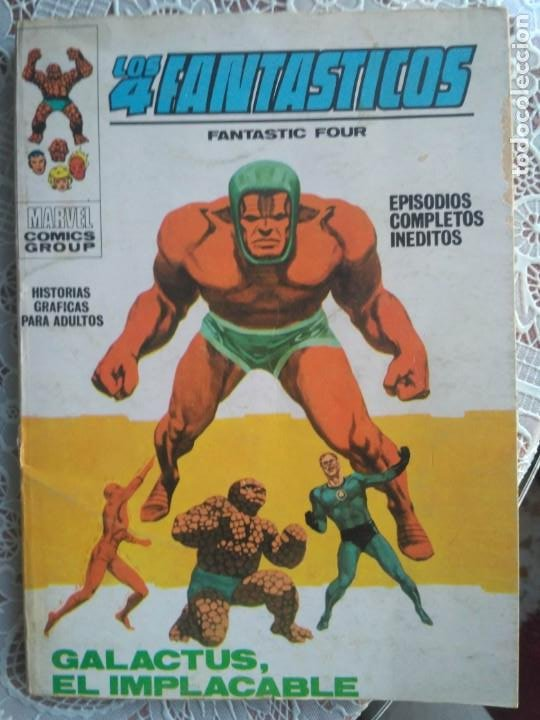 TACO - LOS 4 FANTASTICOS Nº 38 GALACTUS EL IMPLACABLE - EDICIONES VERTICE. (Tebeos y Comics - Vértice - 4 Fantásticos)