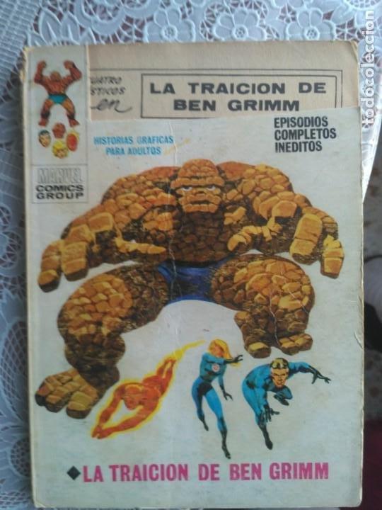 TACO - LOS 4 FANTASTICOS Nº 34 LA TRAICION DE BEN GRIMM - EDICIONES VÉRTICE. (Tebeos y Comics - Vértice - 4 Fantásticos)