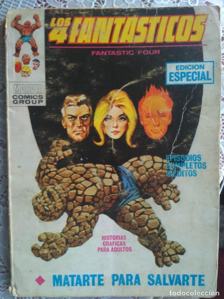 TACO - LOS 4 FANTASTICOS MATARTE PARA SALVARTE Nº 21- EDITORIAL VERTICE, (Tebeos y Comics - Vértice - 4 Fantásticos)