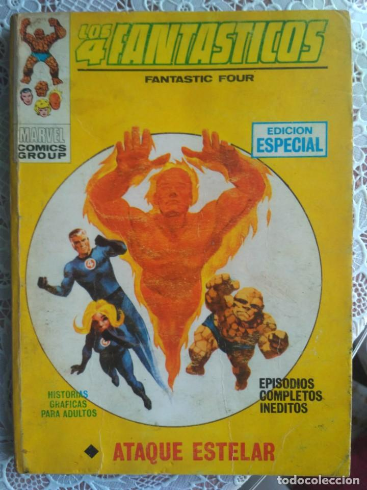 TACO - LOS 4 FANTASTICOS Nº 19. ATAQUE ESTELAR - EDICIONES VERTICE. (Tebeos y Comics - Vértice - 4 Fantásticos)