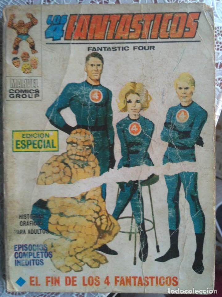 TACO - LOS 4 FANTASTICOS Nº 5 EL FIN DE LOS 4 FANTASTICOS - EDICIONES VERTICE. (Tebeos y Comics - Vértice - 4 Fantásticos)