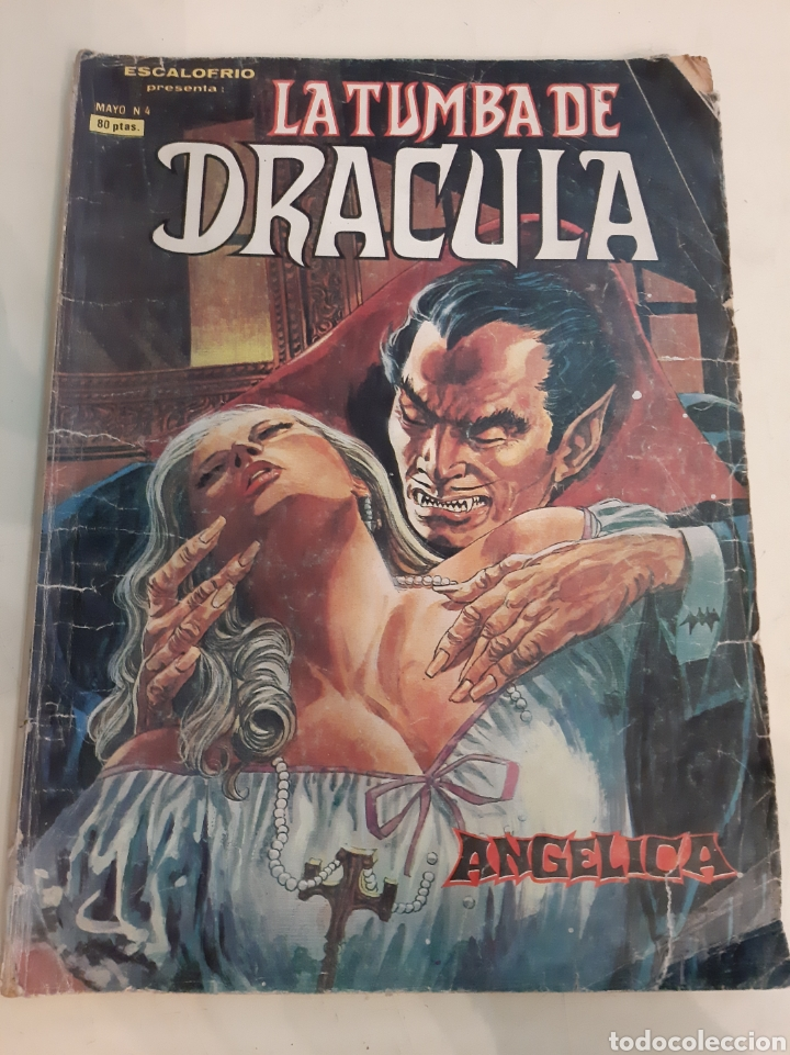 1980 LA TUMBA DRACULA ANGÉLICA MAYO NÚMERO 4 MUNDO COMIS (Tebeos y Comics - Vértice - Terror)