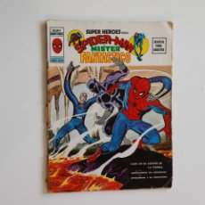 Cómics: SUPER HEROES PRESENTA V.2 Nº4 SPIDERMAN Y MISTER FANTÁSTICO - VÉRTICE AÑO 1974. Lote 186306632