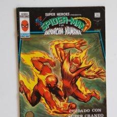 Cómics: SUPER HEROES PRESENTA V.2 Nº89 SPIDERMAN Y LA ANTORCHA HUMANA - VÉRTICE. Lote 186308658