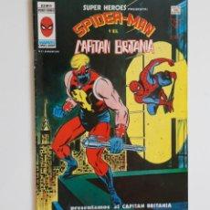 Cómics: SUPER HEROES PRESENTA V.2 Nº91 SPIDERMAN Y EL CAPITAN BRITANIA - VÉRTICE. Lote 186308823