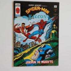 Cómics: SUPER HEROES PRESENTA V.2 Nº98 SPIDERMAN Y EL HALCÓN - VÉRTICE (CON DEFECTO IMPRENTA). Lote 186309168