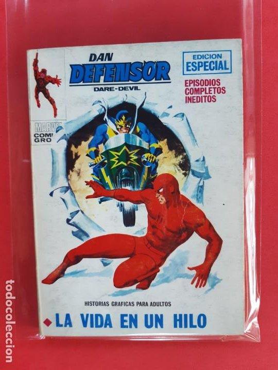 DAM DEFENSOR-Nº28-VERTICE V1 (Tebeos y Comics - Vértice - Dan Defensor)
