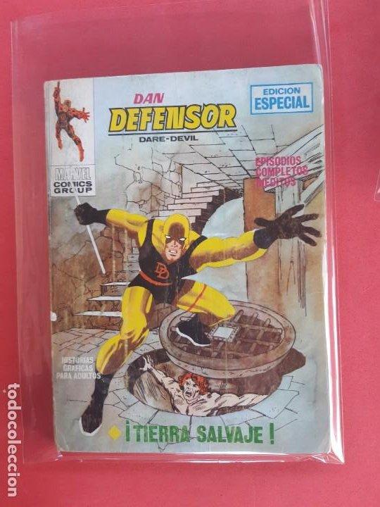 DAN DEFENSOR-Nº6-VERTICE V1 (Tebeos y Comics - Vértice - Dan Defensor)