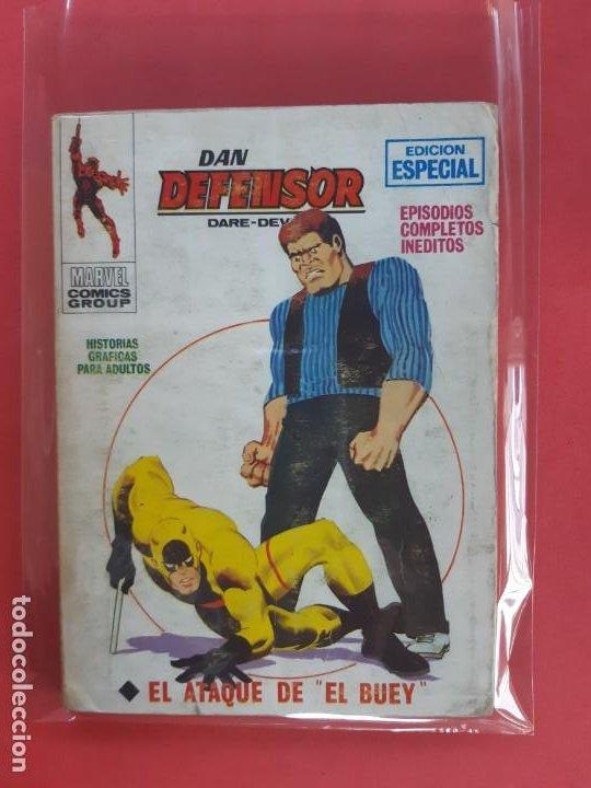 DAN DEFENSOR-Nº8-VERTICE V1 (Tebeos y Comics - Vértice - Dan Defensor)