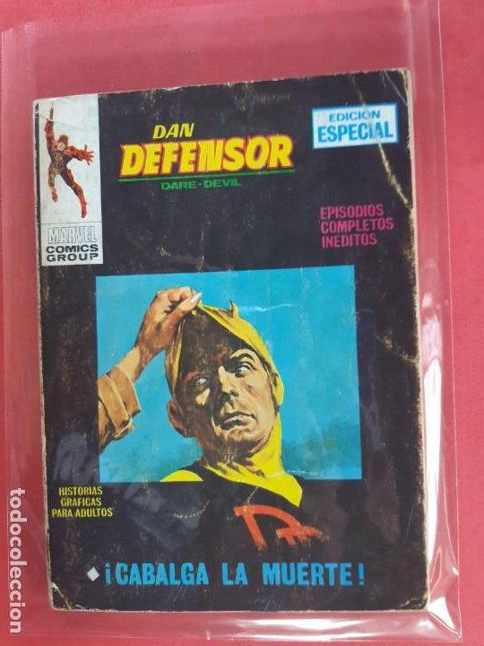DAN DEFENSOR-Nº23-VERTICE V1 (Tebeos y Comics - Vértice - Dan Defensor)