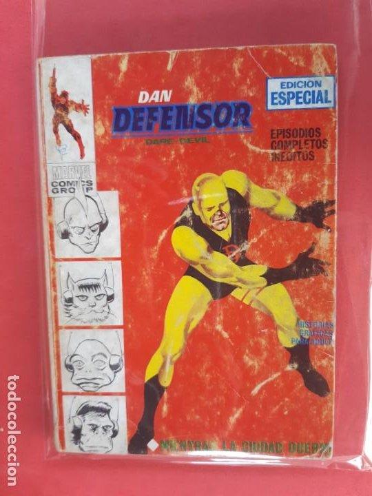 DAN DEFENSOR-Nº5-VERTICE V1 (Tebeos y Comics - Vértice - Dan Defensor)
