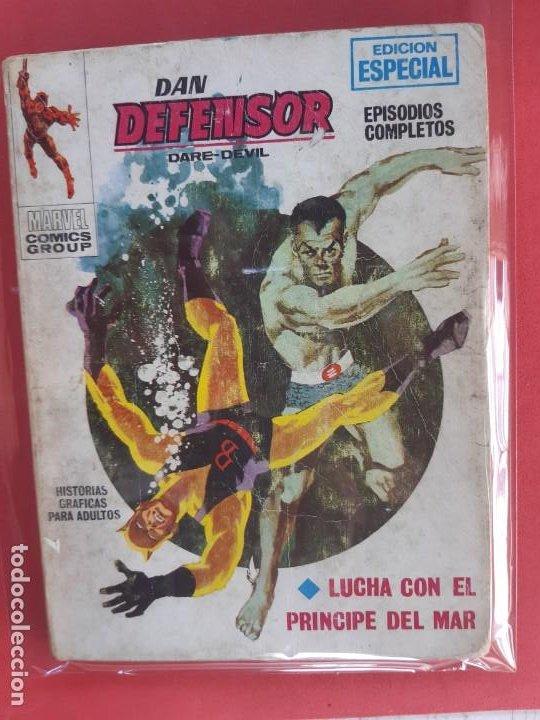 DAN DEFENSOR-Nº4-VERTICE V1 (Tebeos y Comics - Vértice - Dan Defensor)