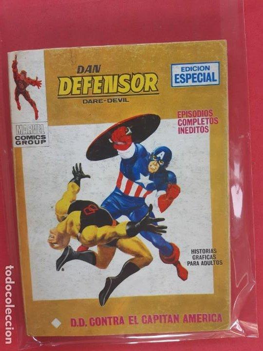 DAN DEFENSOR-Nº17-VERTICE V1 (Tebeos y Comics - Vértice - Dan Defensor)