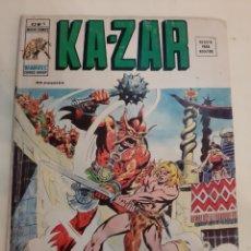 Cómics: 1973 KA ZAR V 2 NÚMERO 9 MARVEL CÓMICS EL ENANO.LA REINA Y EL SALVAJE. Lote 186347455