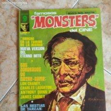 Cómics: LOTE MONSTERS 6 NUMEROS EDITORIAL GARBO (NO VERTICE) SUELTOS PREGUNTAR. Lote 186406522