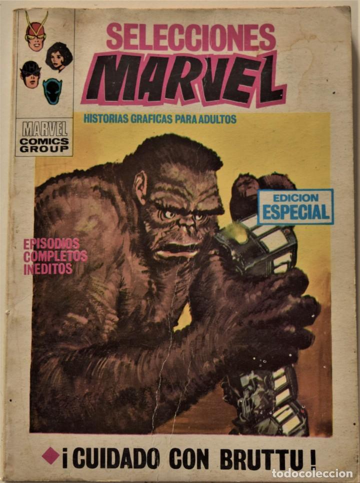 SELECCIONES MARVEL Nº 12 - EDICIÓN ESPECIAL - EDICIONES VÉRTICE AÑO 1969 (Tebeos y Comics - Vértice - V.1)