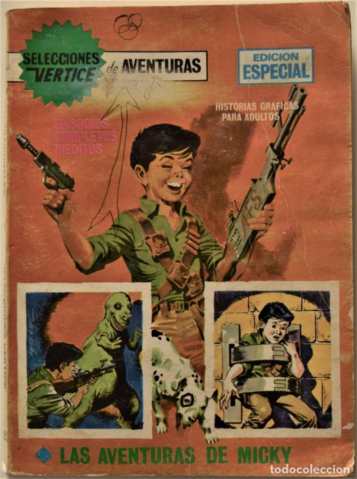 SELECCIONES VÉRTICE DE AVENTURAS Nº 65 - EDICIÓN ESPECIAL - EDICIONES VÉRTICE AÑO 1969 (Tebeos y Comics - Vértice - V.1)