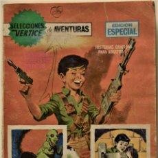 Cómics: SELECCIONES VÉRTICE DE AVENTURAS Nº 65 - EDICIÓN ESPECIAL - EDICIONES VÉRTICE AÑO 1969. Lote 186439896