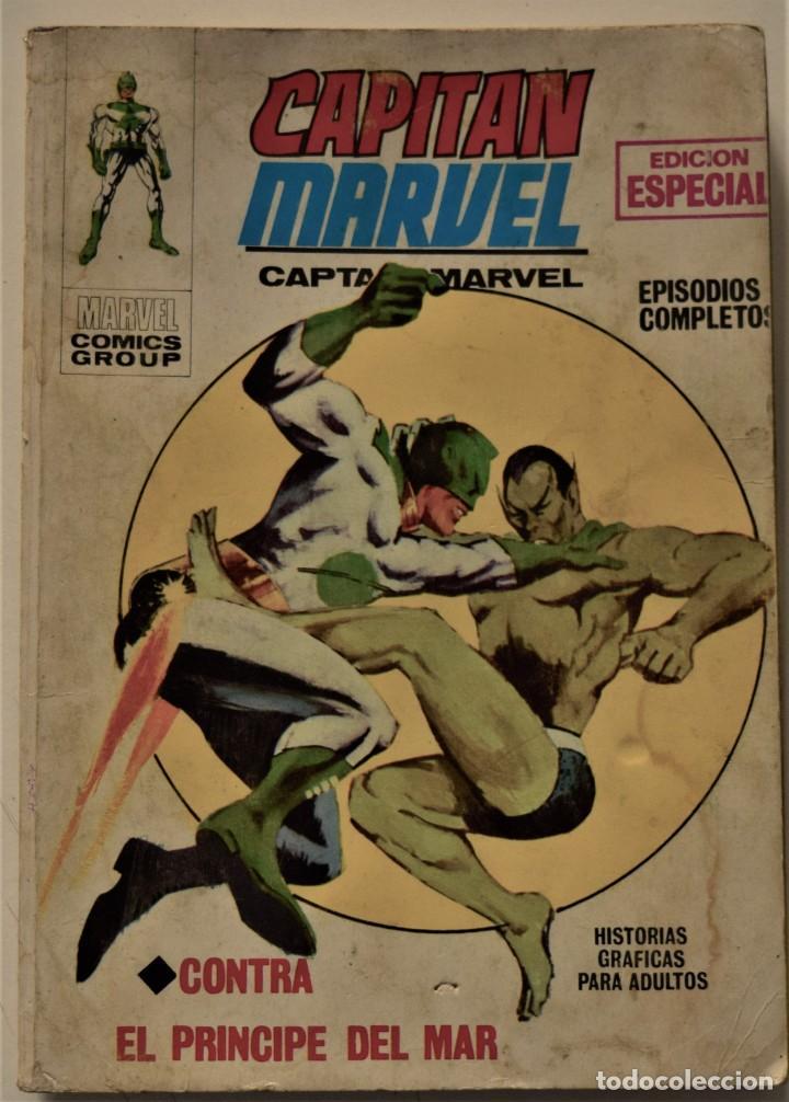 CAPITÁN MARVEL Nº 2 - EDICIÓN ESPECIAL - EDICIONES VÉRTICE AÑO 1969 (Tebeos y Comics - Vértice - V.1)