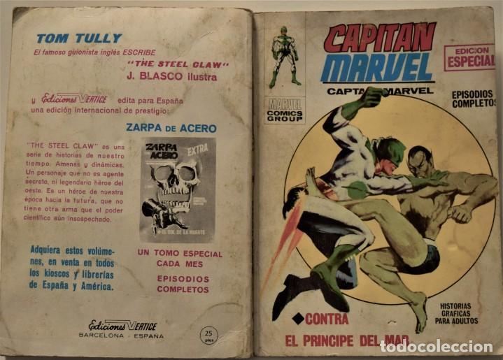 Cómics: CAPITÁN MARVEL Nº 2 - EDICIÓN ESPECIAL - EDICIONES VÉRTICE AÑO 1969 - Foto 2 - 186448407
