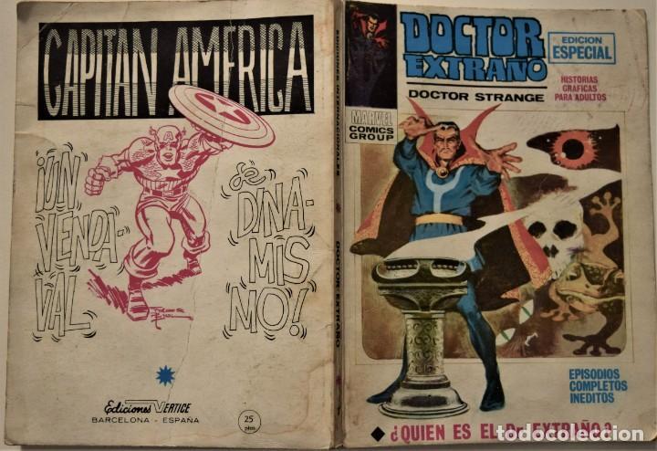 Cómics: DOCTOR EXTRAÑO Nº 1 - EDICIÓN ESPECIAL - EDICIONES VÉRTICE AÑO 1969 - Foto 2 - 186448990