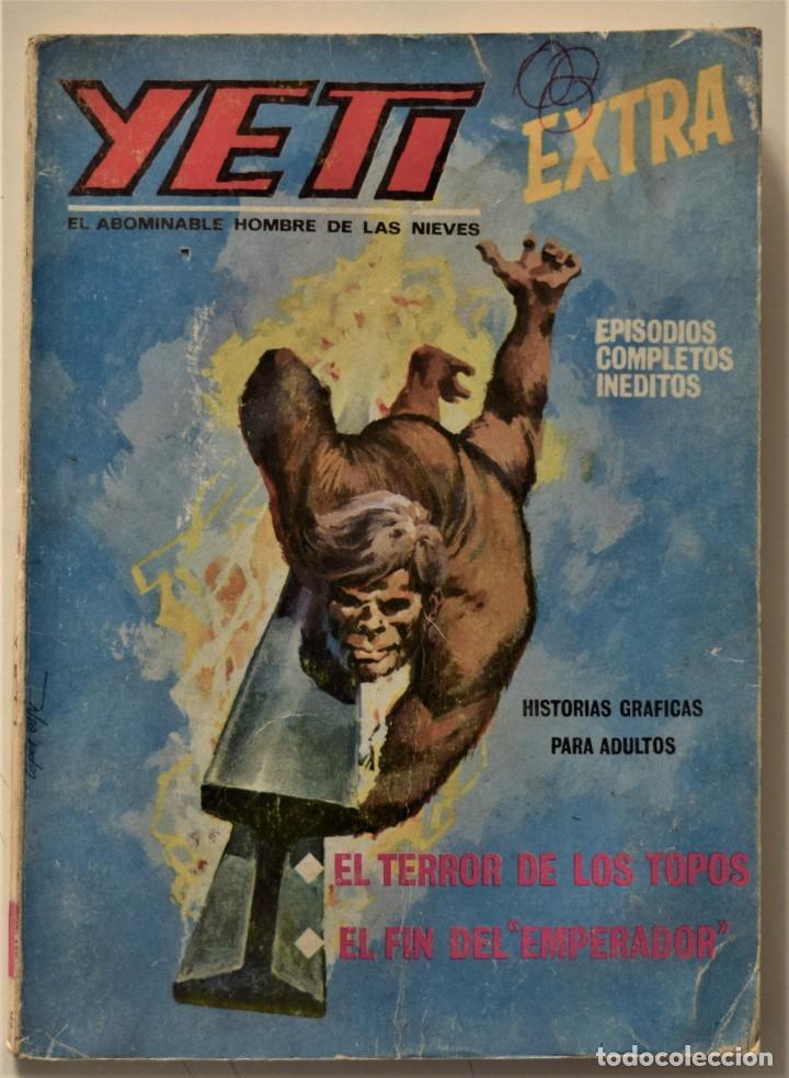 YETI EXTRA Nº 5 - EDICIONES VÉRTICE AÑO 1968 (Tebeos y Comics - Vértice - V.1)
