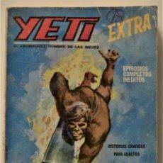 Cómics: YETI EXTRA Nº 5 - EDICIONES VÉRTICE AÑO 1968. Lote 186449616