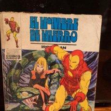 Cómics: HOMBRE DE HIERRO 26, JUEGO DE MUERTE, COMPLETO, BUEN ESTADO - FLA. Lote 187299657
