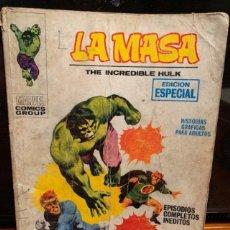 Cómics: LA MASA Nº 3 , LOS ANILLOS DEL MANDARIN, COMPLETO, ESTADO DE USO - FLA. Lote 187299895