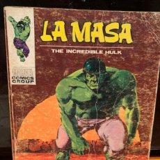 Cómics: LA MASA Nº 23 ,MAÑANA MORIRA EL SOL, COMPLETO, ESTADO DE USO - FLA. Lote 187300120