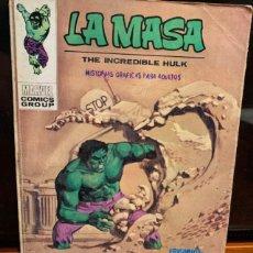 Cómics: LA MASA Nº 24 , ENCUENTRO DE MONSTRUOS, COMPLETO, ESTADO DE USO - FLA. Lote 187300331