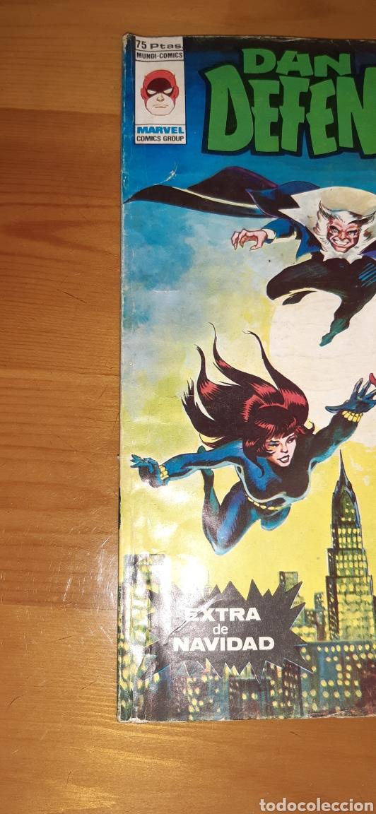Cómics: Antiguo comic vertice DAN DEFENSOR ,EXTRA DE NAVIDAD - Foto 2 - 187322585