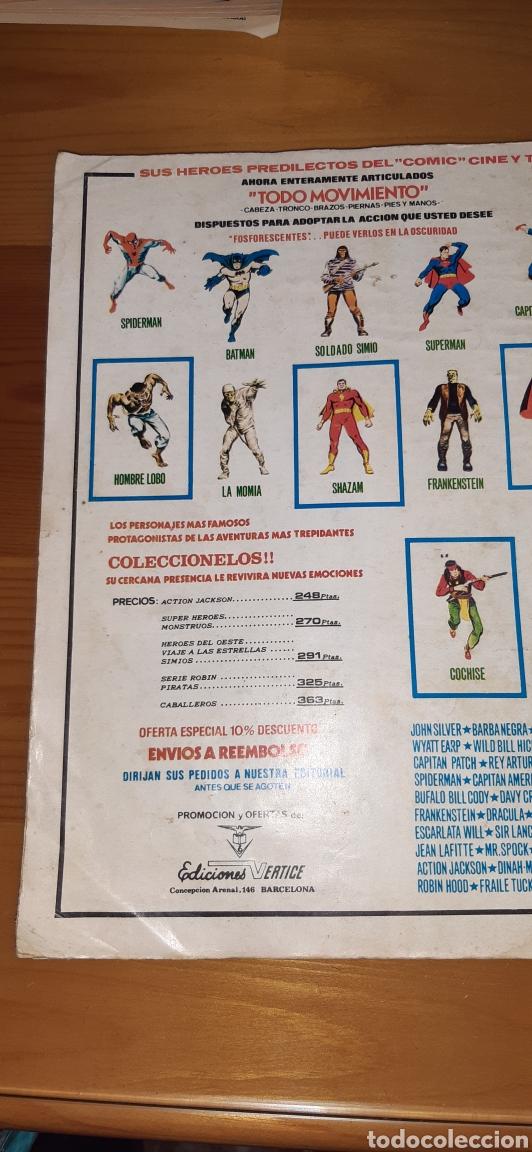 Cómics: Antiguo comic vertice DAN DEFENSOR ,EXTRA DE NAVIDAD - Foto 5 - 187322585
