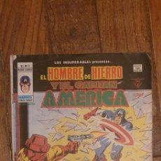 Cómics: MUNDI COMIC, EL HOMBRE DE HIERRO Y EL CAPITAN AMERICA V.1 N º 17. Lote 187491310