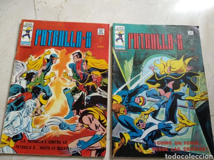 2 COMICS CLÁSICOS DE LA PATRULLA X (Tebeos y Comics - Vértice - Patrulla X)