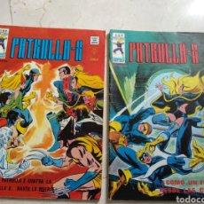 Cómics: 2 COMICS CLÁSICOS DE LA PATRULLA X. Lote 187510450